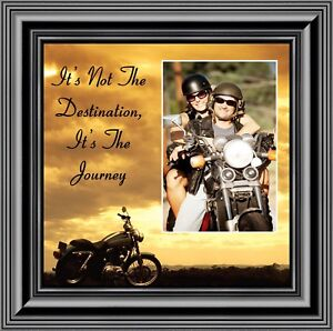 It's Not the Destination, Harley Davidson Motorcycle, 10X10 9760B