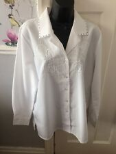 Blouse Size 14 Suit All Occasions By Damart Worn Once