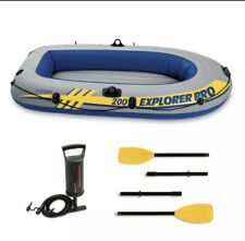 Intex Inflatable Explorer Pro 200 Two-Person Boat ⛵️ with Oars and Pump Water
