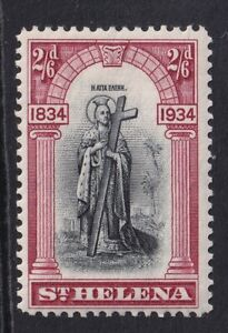 St Helena 1934 KGV 2sh6d Black and Lake MNH SG121 cat £50
