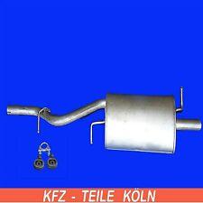FORD KA 1.3 i Muffler End Silencer Exhaust Muffler