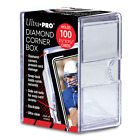 Ultra PRO 100 Karte 2-Piece Diamant Ecke Aufbewahrung Box Premium Slide SnapToploader-Hüllen & Kartenhalter - 183438