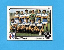 PANINI CALCIATORI 1980/81 - Figurina n.364- SQUADRA - MANTOVA -NEW