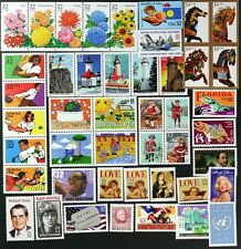 US 1995 Commemorative Year Set, 110 stamps with 3 sheets, Mint NH see scans