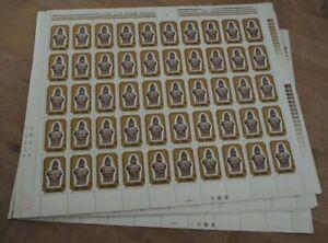 1980 Rumänien; 1000 Einzelwerte Tag der Briefmarke, **/MNH, MiNr. 3758, ME 500,-