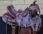 HORSE SADDLE WESTERN USED TRAIL GAITED ENDURANCE LEATHER PRO LEATHER TACK 16