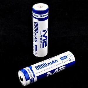2 x M2 TEC Lithium Ionen Akku 3,7 V 8800 mAh 11,8 Wh