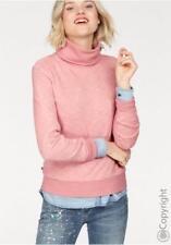 Tommy Jeans Damen Pullover mit Rollkragen rose Gr. S+M Tommy Hilfiger