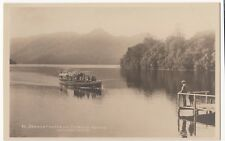 Derwentwater & Catbells RP PPC, Unposted, GP Abraham With May Queen Steamer