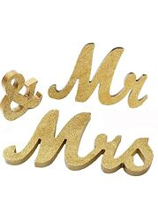 Mr And Mrs Wedding Tabel Decor