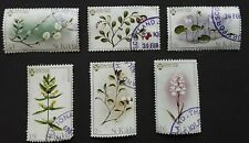 St Kilda 1970 - National Trust- Flowers set of 6 used stamps