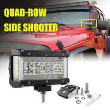 "5"" 308W Quad-Row 2 Sides Shooter LED Light Bar Combo Pods Driving Truck Offroad"