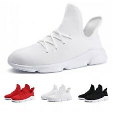 Men's Sneakers Leisure Breathable Sport Leather Outdoor Athletic Running Shoes L