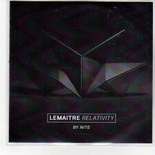(EQ77) Lemaitre, Relativity By Nite - DJ CD