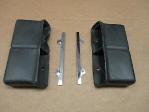 68-72 Chevelle El Camino Console Seat Belt Holder Cups  Original GM