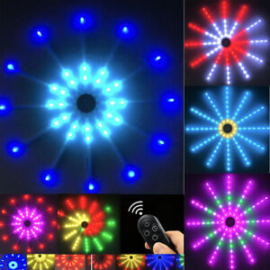 18 Modes Firework Lights Waterproof Outdoor Indoor Path Lawn Garden Decor Home