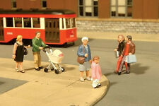 Gauge H0 - Bachmann 6 Figures Pedestrian 33109 NEU
