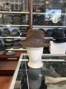 Stetson Wool Teardrop Men's Fedora Hat Size Large