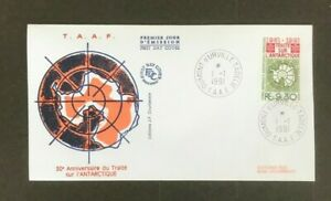 SC42 TAAF 1991 The 30th anniversary of the Antarctic treaty