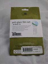 Power Support iPhone 3G 3GS Anti-Glare Film Set Screen Protector