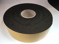 Resilient sponge rubber acoustic Sealing Tape 75mm x 5mm x 10M We manufacture