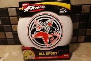 Wham-O Frisbee All Sport Disc 140g White Outdoor Park Beach Brand New