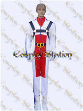 Macross Robotech Rick Hunter Flight Suit Cosplay Costume_commission771