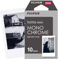Fujifilm Instax Mini Instant Film Monochrome for Mini 9 8 7s 7c 70 25 SP-2 SP-1