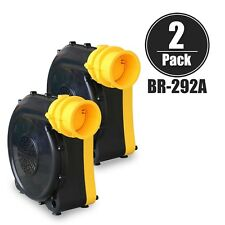 XPOWER BR-292A 3 HP High Static Inflatable Blower For Jumper Bounce House 2 Pack