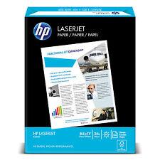 Hp LaserJet Paper Ultra White 97 Bright 24lb Letter 2500 Sheets/Carton 115300