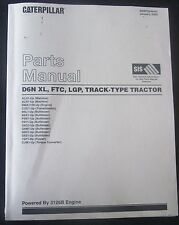 PARTS MANUAL FOR D6N XL, FTC, LGP CATERPILLAR  TRACK - TYPE TRACTOR