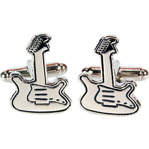 Guitar Cufflinks - ON SALE - GIFT IDEA FOR HIM MALE DAD FATHER BOY COOL PRESENT