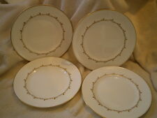 "Royal Doulton ""Rondo"" Porcelain Salad/Dessert  Plates (4), Vintage, England"