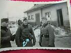 WWII Original German Photo Combat Soldiers MP 40 pouch's