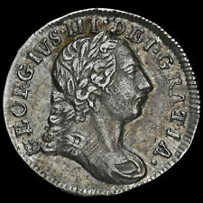 More details for 1780 george iii early milled silver maundy twopence
