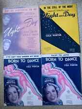 17 Cole Porter Lot  Vintage Sheet Music All Different, artist copy, some RARE