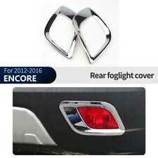 Chrome Rear Fog Light Lamp Cover Trim For Buick ENCORE 2012-2016