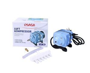 OSAGA Kolbenkompressor LK-35 Luftpumpe Sauerstoffpumpe Teich-Belüfter 2.100 l/h