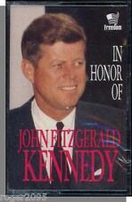 In Honor of John Fitzgerald Kennedy - New Documentary Cassette Tape!