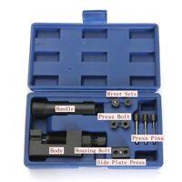 Motorcycle Heavy Duty Chain Breaker Rivet Cutter Tool Kit 500/520/525/530/630