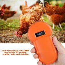 134.2Khz LCD Chip Animal Reader RFID Dog Microchip Handheld Pet Scanner USB