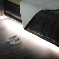 Motion Sensor LED Night Light Stick on Lamp Under The Bed Cupboard Wardrobe KIT