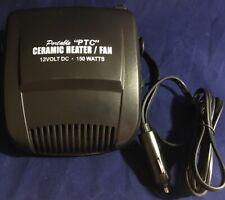 CERAMIC 12V DEFROSTER FAN CAR CARAVAN RV MOTORHOME TRUCK ACCESSORIES PARTS