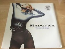 MADONNA - RESCUE ME - UK 12' VINYL IN PICTURE SLEEVE WITH RARE COLOUR POSTER