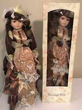 2 Victorian Porcelain Girl Doll-Dolls Collectible