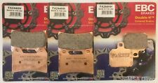 Ducati Monster S4R (2003 to 2006) EBC Sintered FRONT and REAR Disc Brake Pads
