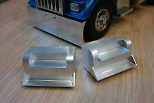 Pair Aluminum Side Step B Style Tamiya R/C 1/14 King Knight Grand Hauler Aeromax