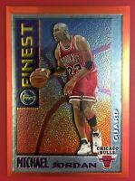 🔥🏀 1995-96 Topps Finest #M1 Michael Jordan Mystery Insert Orange Border - HOT!