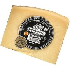 300 gr / 10.58 oz S.JORGE AZORES ISLAND CHEESE 24 Months Cure /  FREE shipping