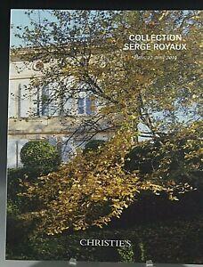 CHRISTIE'S CATALOG COLLECTION SERGE ROYAUX PARIS 04/17/2019
